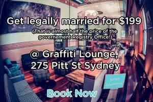 Graffiti Lounge, The Art House Hotel, 275 Pitt Street, Sydney