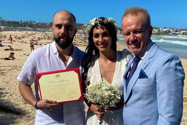 Get married on the beach at Bondi