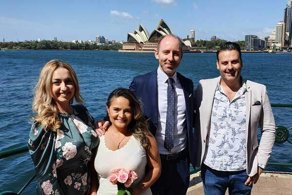 Marriage Registry Office Sydney Harbour