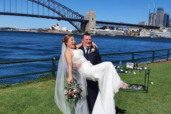 Getting married on Sydney Harbour - COVID-19