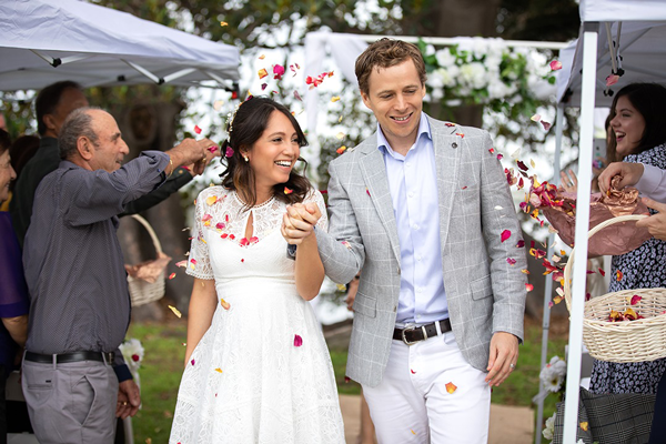 Gorgeous couple getting married in Sydney