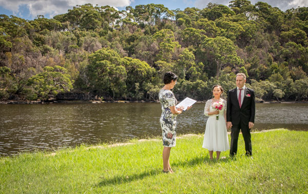 Quiet, beautiful place to get married in Sydney